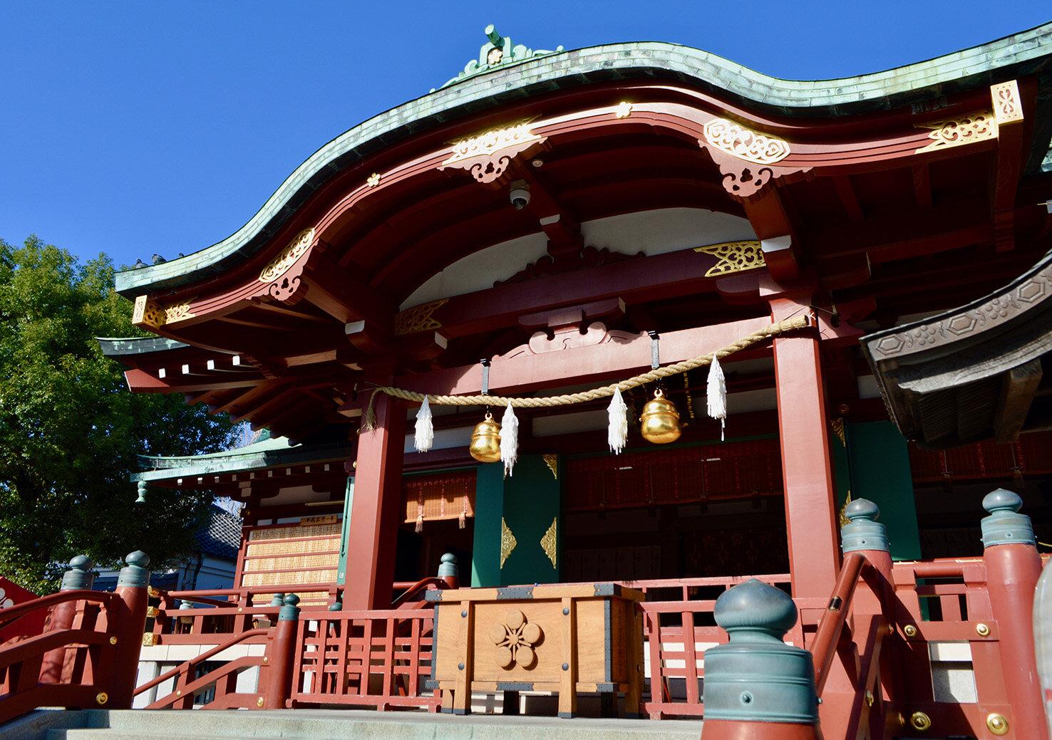 神社での参拝方法 -亀戸天神社-