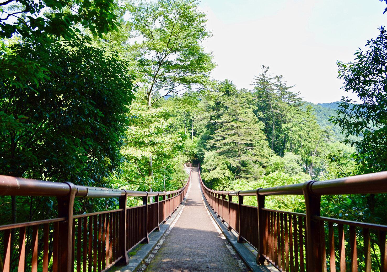 都心から1時間、秋川渓谷で自然に浸る