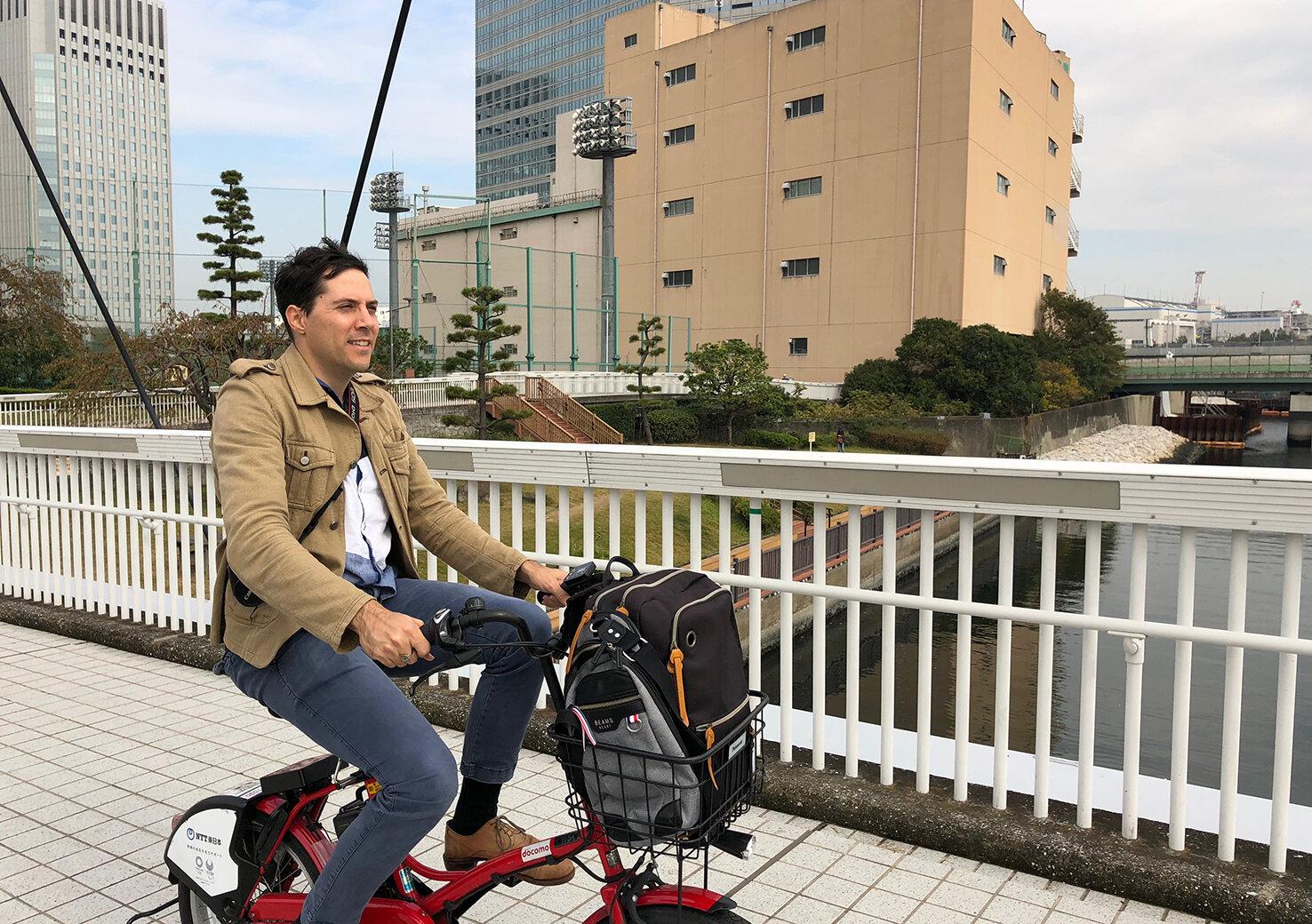 自転車に乗って東京を巡ろう!