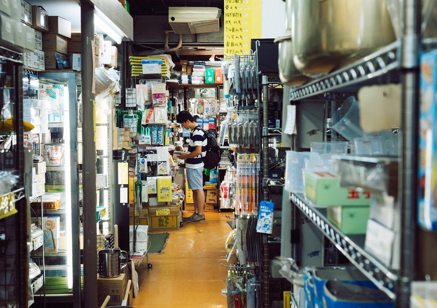 日本の食文化に寄り添うかっぱ橋道具街®