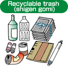 Trash collection | Tokyo International Communication Committee